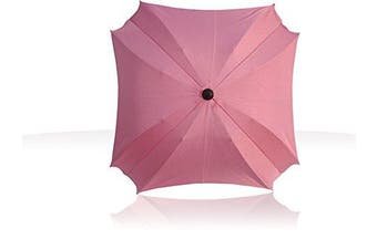 (Pink) - Universal Pram Sun Parasol with Flexible Arm, Parasol with UV Protection, Diameter 68 cm,