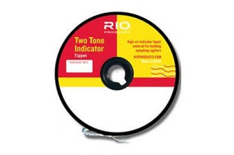 Rio Two Tone Indicator Tippet Material 30 Yard 3.9kg 2X Fishing Line Hi-Viz