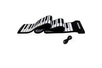 Andoer USB 88 Keys MIDI Roll-Up Electronic Piano Keyboard Silicone Flexible Professional Item