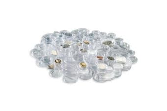 Lighthouse coin capsules assortment for Euro-coins 16.5 until 33 mm, 100 per pack