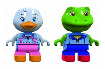 Aquaplay 2 Puppets (Frog+Duck)