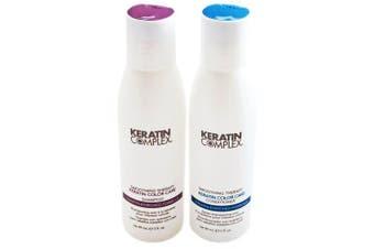 Keratin Complex Keratin Colour Care Travel Set: Shampoo and Conditioner (90ml Each)