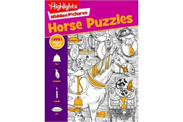 Horse Puzzles (Hidden Pictures)