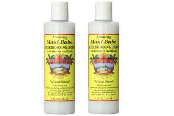 Maui Babe 240ml After Browning Lotion Set of 2