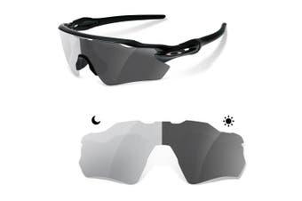 (PHOTOGREY ( 15%-40% )) - sunglasses restorer Polarised Replacement Lenses for Oakley Radar EV