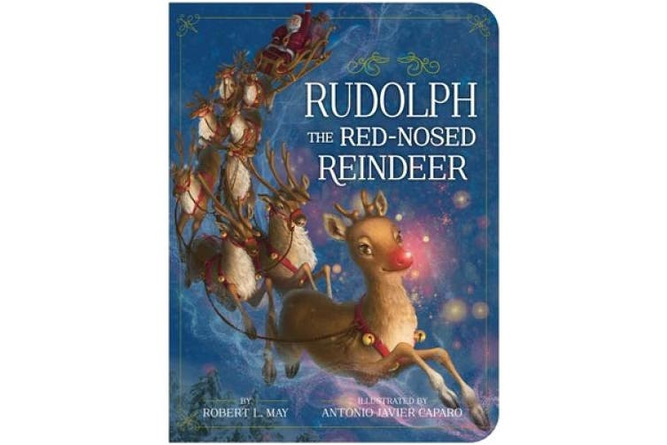 Rudolph the Red-Nosed Reindeer [Board book]