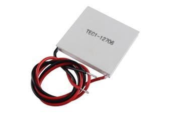 HALJIA TEC1-12706 Heatsink Thermoelectric Cooler Cooling Peltier Plate Module 12V 60W