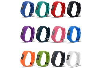(StyleA:12Pcs Bands) - Band For Garmin Vivofit 3 and Garmin Vivofit JR,12 Colour Styles Fitness Silicon Bracelet Strap Replacement Bands for Garmin Vivofit 3 and Vivofit JR(No Tracker)