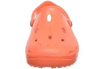 (44/45 EU, Orange - Orange (coral)) - Chung -Shi Unisex Kids' DUX Coral Clogs and Mules