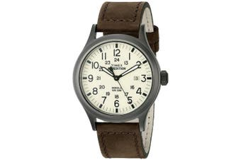 (Dark Brown/Natural) - Timex Men's Expedition Scout 40 Watch