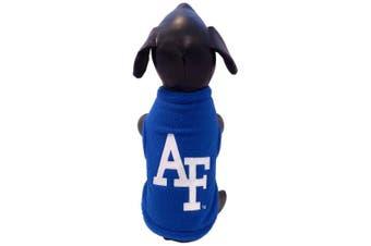 (XX-Large, Blue) - NCAA Air Force Falcons Sleeveless Polar Fleece Dog Sweatshirt