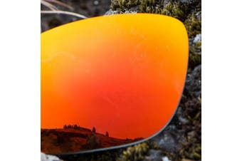 (Polarized Elite Owyhee Red Mirrorshield®) - Revant Replacement Lenses for Oakley Half Jacket