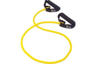 (Medium Resistance,Yellow, Yellow) - Body Sport Fitness Performance Tubes
