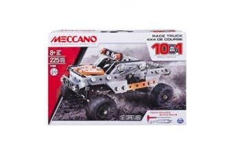 Meccano 10 Model Set Race Truck 225 Piece