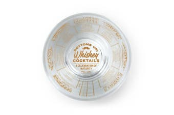 (Whiskey) - Fred GOOD MEASURE Cocktail Recipe Glass, Whiskey - 5192625