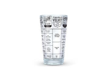 (Hangover) - Fred GOOD MEASURE Cocktail Recipe Glass, Hangover - 5186688
