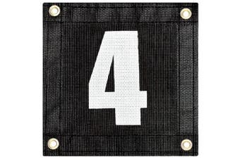 (# 12) - Tourna Windscreen Court Numbers