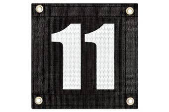 (# 11) - Tourna Windscreen Court Numbers