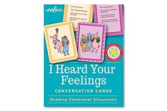 (I Heard Your Feelings) - eeBoo, Flashcards I Heard Your Feelings Hardbox