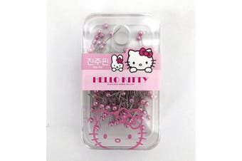 Sanrio Hello Kitty Pink Pearl Straight Pin Case