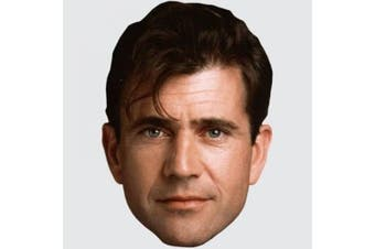 Mel Gibson (Young) Celebrity Mask, Cardboard Face and Fancy Dress Mask