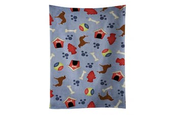 Caroline's Treasures BB3931KTWL Portuguese Sheepdog Dog Dog House Collection Kitchen Towel , 38cm X 70cm , multicolor