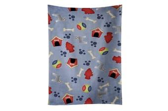 Caroline's Treasures BB4116KTWL Dog House Collection Schnauzer Kitchen Towel , 38cm X 70cm , multicolor