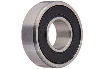 (8 Bearings) - R6-2RS Sealed Bearings 3/8 x 7/8 x 9/32 Ball Bearings / Pre-Lubricated-8 Bearings