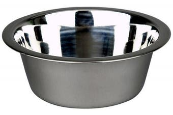 (2.8l) - Advance Pet Products Stainless Steel Feeding Bowls