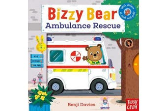 Bizzy Bear: Ambulance Rescue (Bizzy Bear) [Board book]