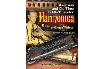 Bluegrass and Old-Time Fiddle Tunes for Harmonica Book/Audio Online