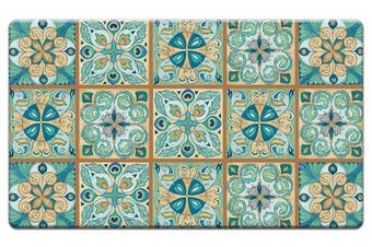 Counter Art 'Moroccan Tiles' Anti Fatigue Floor Mat, 80cm x 50cm