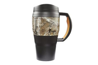 (590ml, black realtree) - Bubba Brands 1953542 Classic Insulated Travel Mug, 590ml, Black Realtree Design