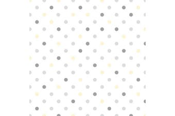 (46cm x 1.2m, Dottie Grey) - Con-Tact Brand Adhesive Grip Prints in Dottie, Grey Non-Slip Counter Top, Drawer and Shelf Liner, 46cm x 1.2m, Grey