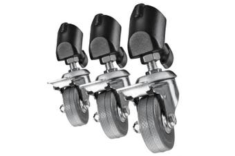 Walimex Pro tripod wheels set of 3 (for tripods with a leg diameter of 18 - 23 mm)