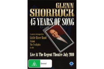 Glenn Shorrock - 45 Years Of Song [Region 4]