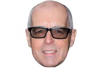 Neil Tennant Celebrity Mask, Cardboard Face and Fancy Dress Mask