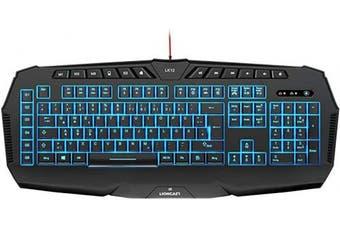 (LK12) - Lioncast LK12 Illuminated Gaming Keyboard
