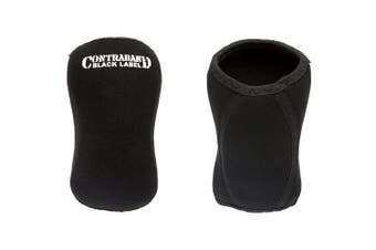 (X-Large, Black) - Contraband Black Label 1870 7mm Classic Knee Sleeves (PAIR)