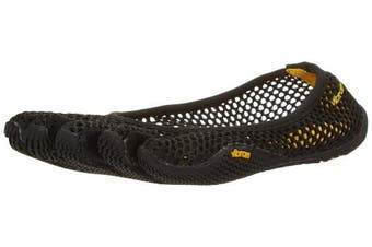 (6/6.5 UK, Black (Black)) - Vibram FiveFingers Women's VI-b Fitness Shoes
