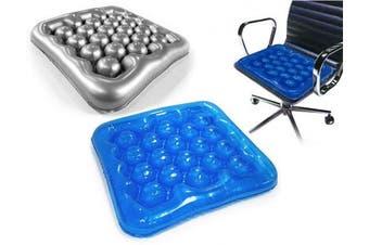 (Blue colour) Air Water Inflatable Wheelchair Driver Car Cushion Office Driver Seat Cushion