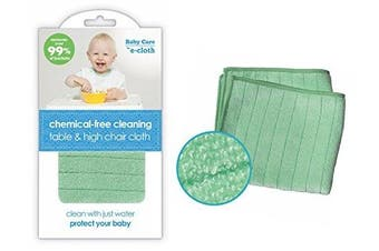(Table & High Chair Cloth) - e-cloth Baby Chemical-free Water Only Cleaning Table & High Chair Cloth