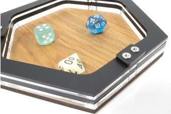 Mini Personal Size Gaming Dice Tray from C4Labs