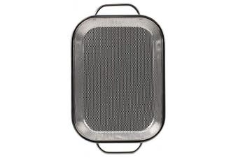(Steel Roasting Pan) - RSVP International Endurance BBQ Precision Pierced Roasting Pan (BQ-RP)