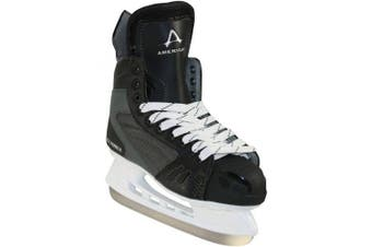 (7, Black) - American Ice Force 2.0 Hockey Skate
