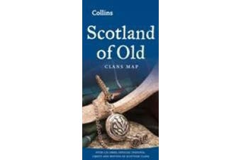 Scotland of Old: Clans Map of Scotland (Collins Pictorial Maps) (Collins Pictorial Maps)