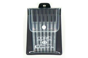 (1 Set) - Copic Markers MLA2 Multiliner Inking Pen, Set A-2