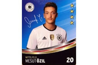 Rewe DFB Trading cards EM 2016 Selection from all 36 and Collector's album or everything complete - Nr 20 Mesut Özil