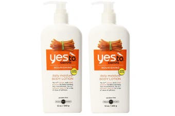 Yes to Carrots Nourishing Daily Moisture Body Lotion, 350ml - 2pc + FREE LA Cross Manicure 74858