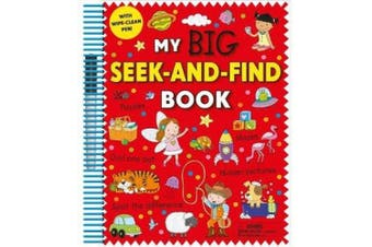 My Big Seek-And-Find Book [With Wipe-Clean Pen]